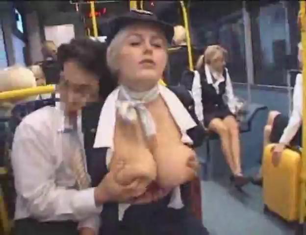 Porn bus japanese Terrified Japanese